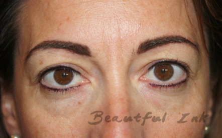 Fresh from top up visit - Add more colour to eyebrows and lash definer