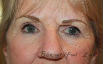 Fresh from first visit - Naturally shaped and coloured brows