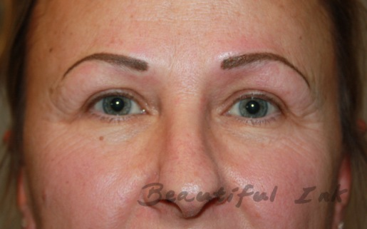 Fresh from first visit - Naturally shaped mid density brows