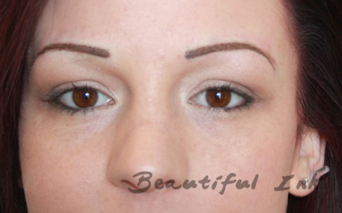 After - Permanent Eyebrows