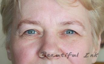 Before - Eyebrow tattoo