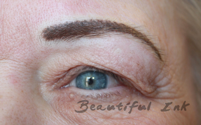 After - Dark naturally feathered brows