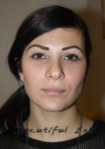 Permanent Makeup Eyebrow Tattoo (37) | Stretch Mark ...