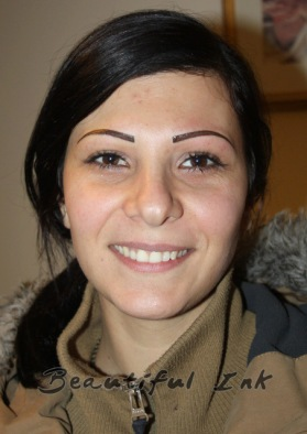 Permanent Makeup Eyebrow Tattoo
