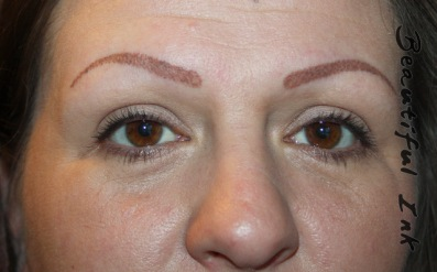 Creating missing eyebrows