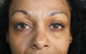 Faded Eyebrow Tattoo (new client)