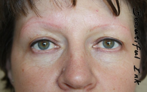 Faded Permanent Makeup (new client)