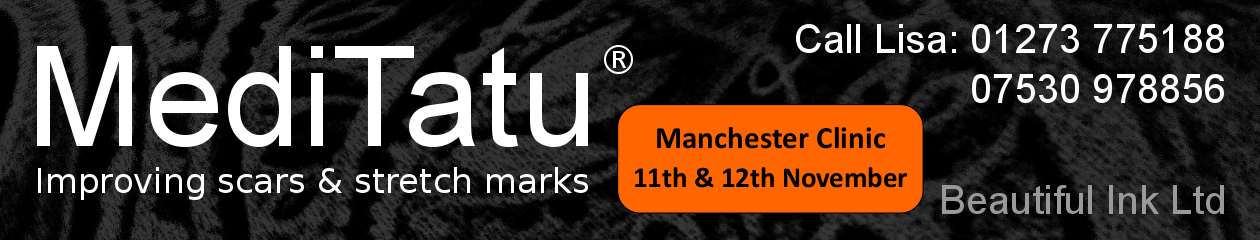 MediTatu ® Dry Tattooing. Improving scars, stretch marks in Brighton and Manchester